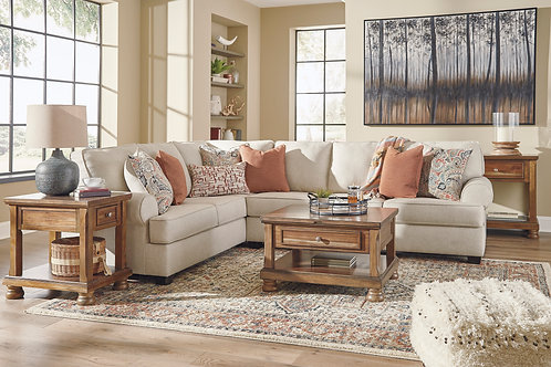 Amici Linen 3-PC LSF Sectional