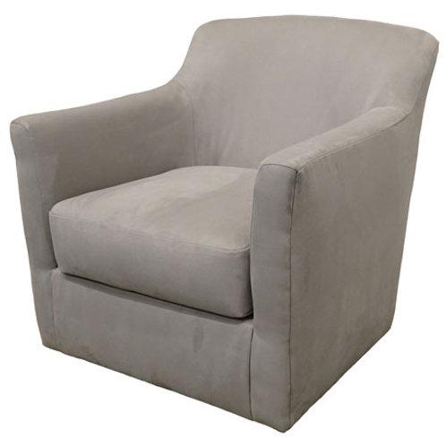 Bradney Smoke Swivel Accent Chair