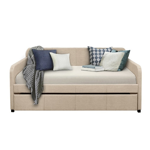 Beige Daybed w/ Trundle