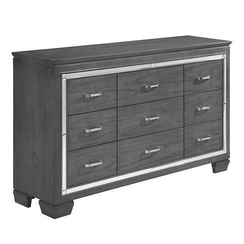 Allura Gray Dresser