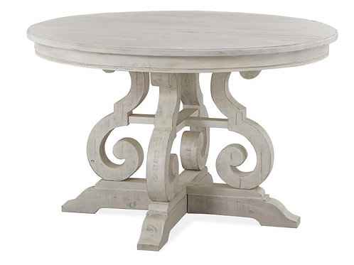 Bronwyn Alabaster Round Dining Table