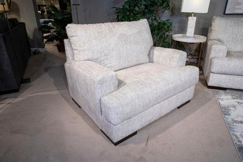 Caretti Parchment Oversized Chair