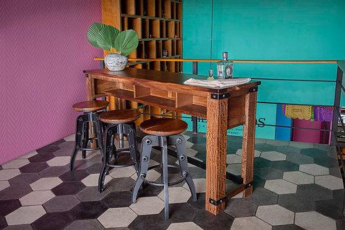 Parota Natural Two Tone Sofa Table