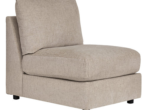 Kellway Bisque Armless Chair