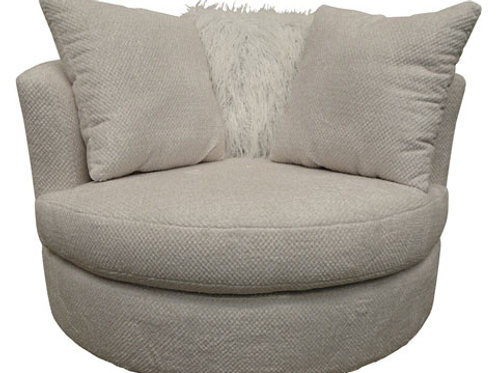 Delhaven Oversized Swivel Accent Chair