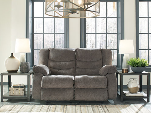Tulen Graphite Reclining Loveseat