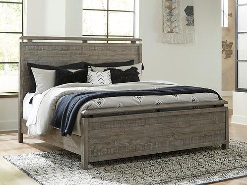 Brennagan Queen Panel Bed w/ Optional Spoiler