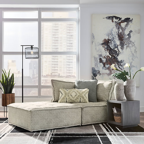 Bales Taupe Sofa Chaise