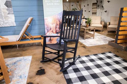 Teagan Black Rocking Chair