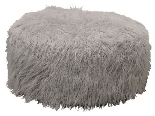Galice White Oversized Accent Ottoman