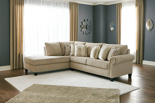 Dovemont Putty LAF Sectional