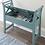 Thumbnail: Heron Ridge Antique Blue Storage Bench
