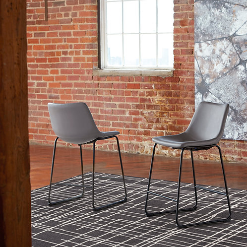 Centair Gray Upholstered Barstools