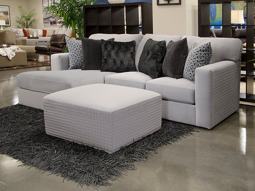 Carlsbad Carob 2-PC LAF Charcoal Chaise Sectional