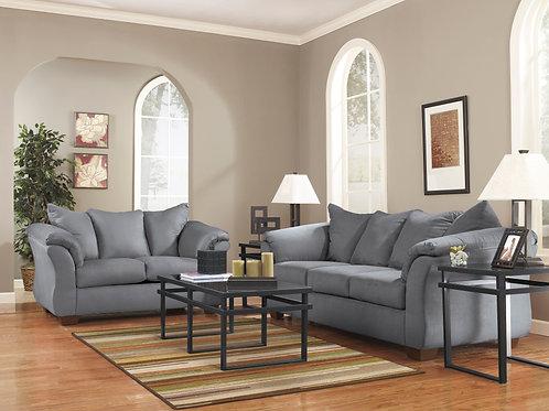 Darcy Steel Sofa OR Loveseat