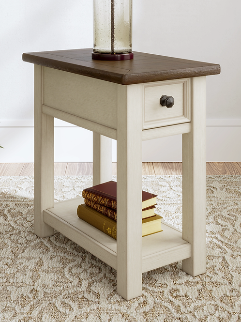 Bolanburg Single Drawer Chair Side End Table