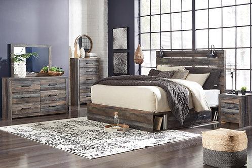Drystan Urban Rustic Storage Bed