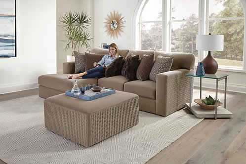 Carlsbad Carob 2-PC LAF Chaise Sectional