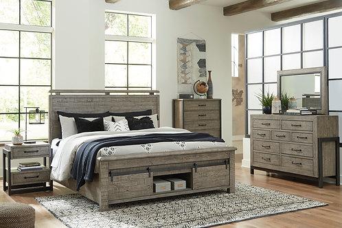 Brennagan Storage Bedroom Collection w/ Optional Spoiler