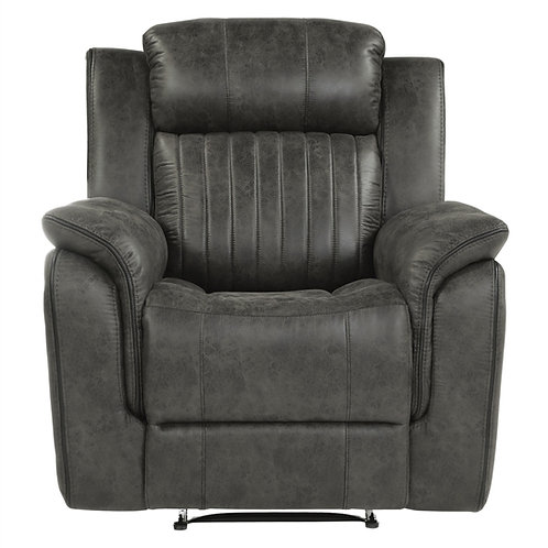 Centeroak Brownish-Gray Reclining Chair
