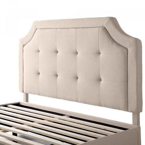 Carlisle Oat Upholstered Headboard