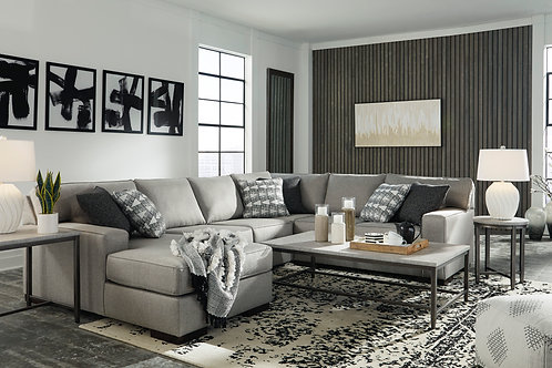 Marsing Nuvella Slate 4-pc Sectional