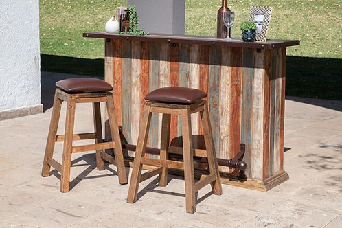 Antique Multicolored Bar