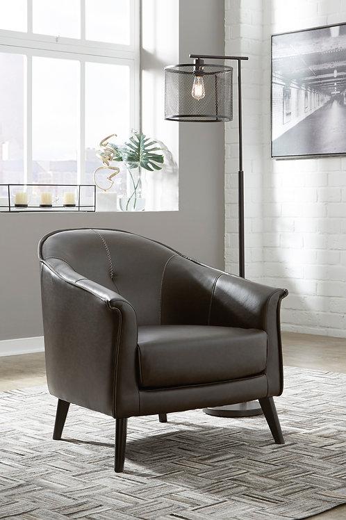 Brickham Dark Brown Accent Chair