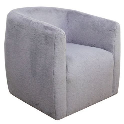 Bramner Light Grey Swivel Accent Chair