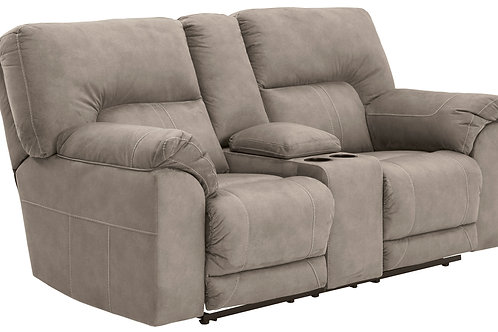 Cavalcade Slate Two Seat Reclining Loveseat w/ Console