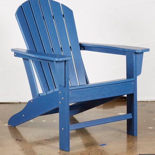Sundown Blue Treasure Adirondack Chair
