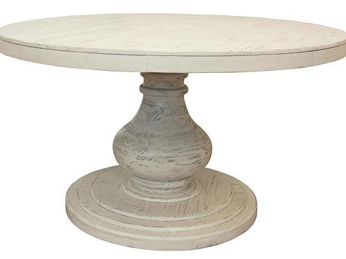 Bonanza Ivory White Dining Table