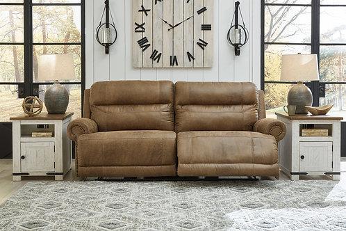 Grearview Earth Power Reclining Sofa w/ Adjustable Headrest
