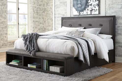 Hyndell King Storage Bed