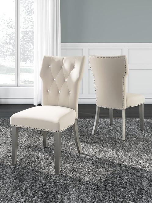 Chevanna Cream Dining Chairs