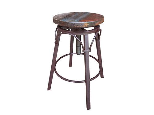 "Antique Multicolor Sofa Table 24""-30"" Swivel Barstool"