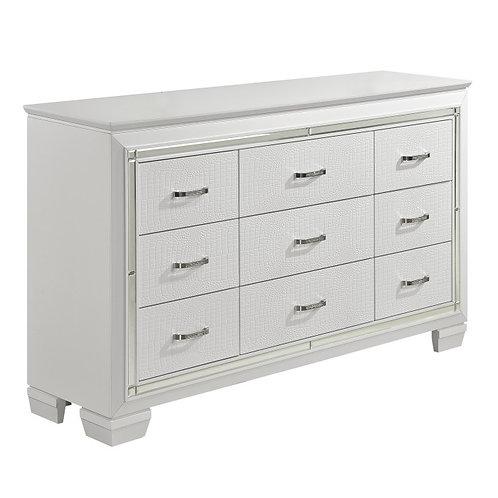 Allura White Dresser