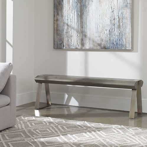 Acai Solid Wood Bench