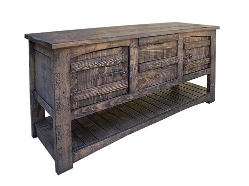 San Antonio Gray Sofa Table
