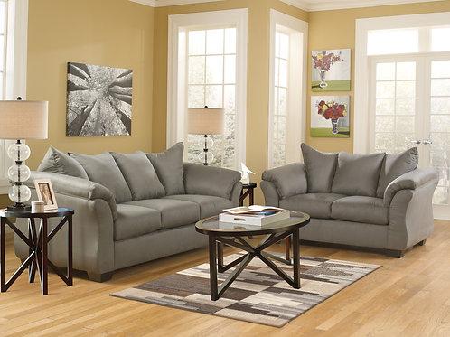 Darcy Cobblestone Sofa OR Loveseat