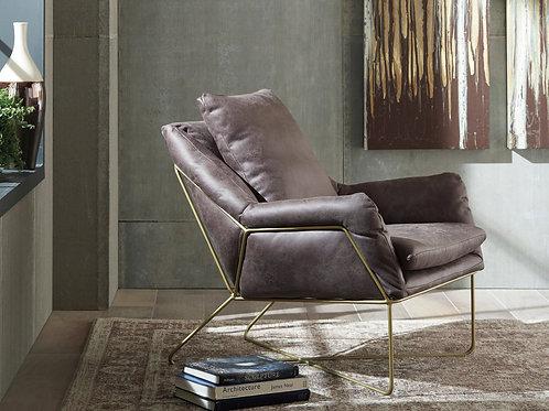 Crosshaven Dark Grey Accent Chair