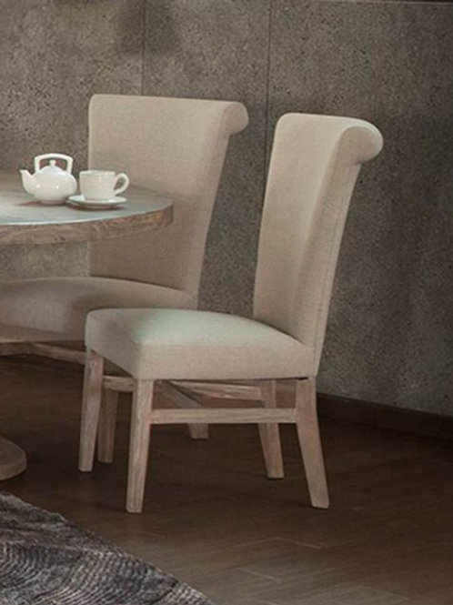 Bonanza Medium Gray Upholstered Chair