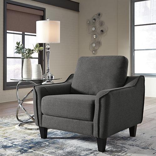 Jarreau Gray Accent Chair