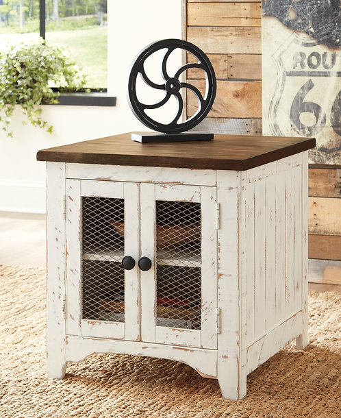 Wystfield Rectangular End Table