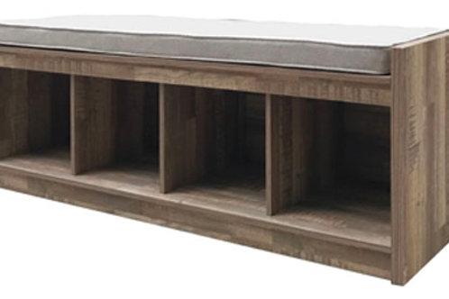 Gerdanet Beige Storage Bench