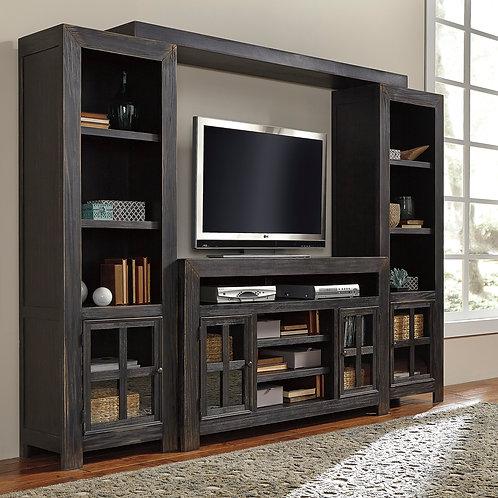 Gavelston Black Large Wall Unit TV Stand