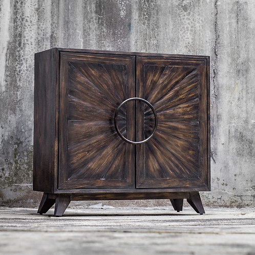 Kohana Word Black Two Door Cabinet