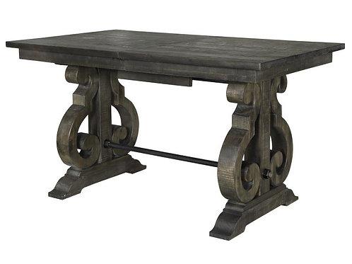 Bellamy Peppercorn Rectangular Counter Height Table