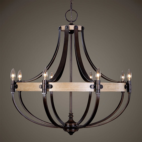 Dubios Eight Light Chandelier