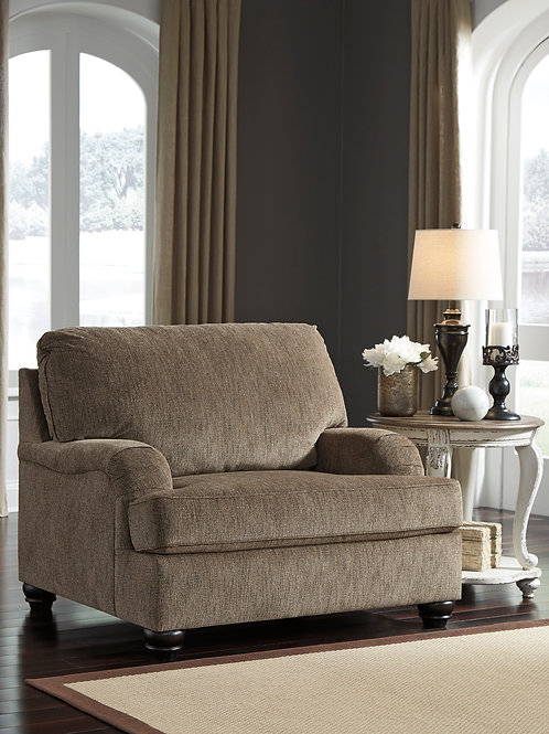 Braemar Brown Chair & 1/2